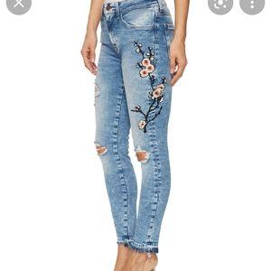 Mavi Tess highrise skinny jeans waist 26 length 29
